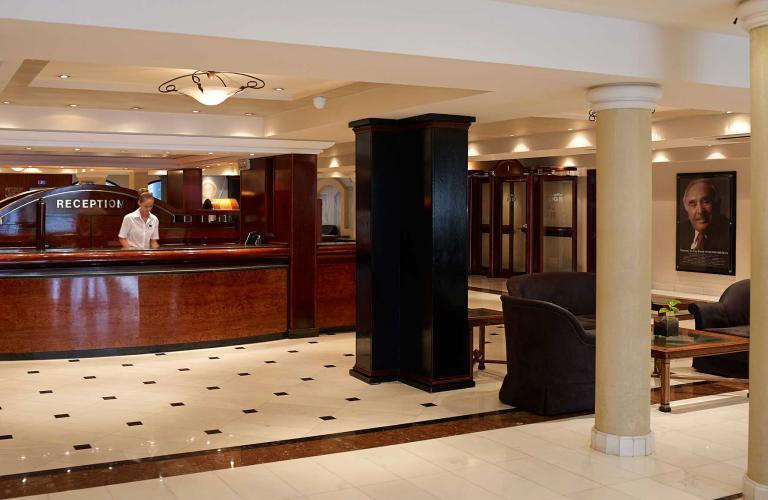 hotel Mitsis Grand - recepcija