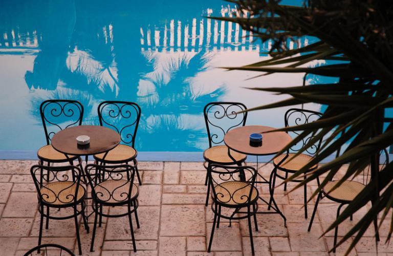 hotel Kriopigi Beach - bazen
